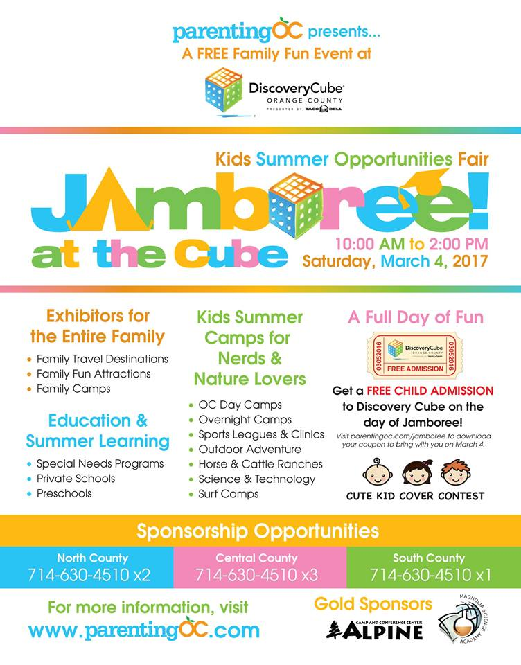 Discovery Cube Coupon >> Jamboree At The Discovery Cube Hareshare