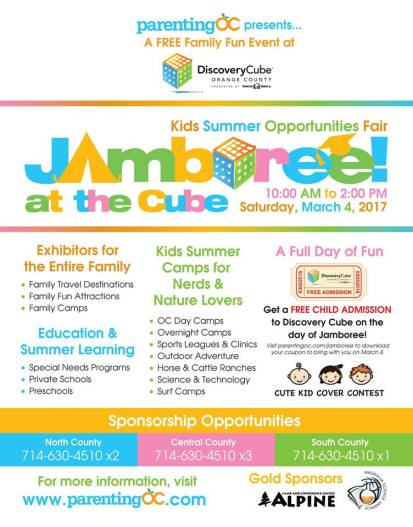 Jamboree at The Discovery Cube