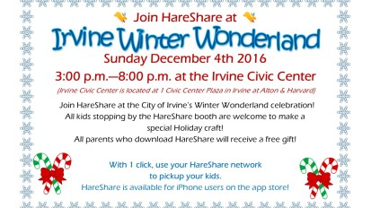 City of Irvine Winter Wonderland